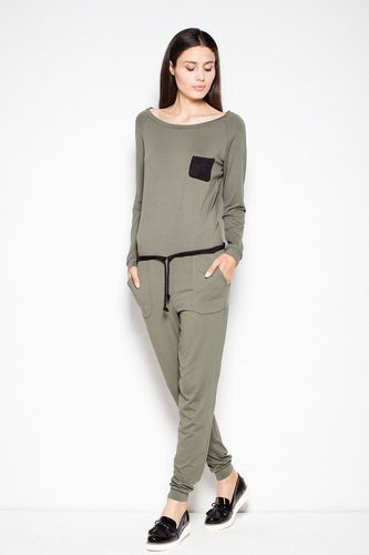 Venaton - Jumpsuit - Haalari - Black,Green